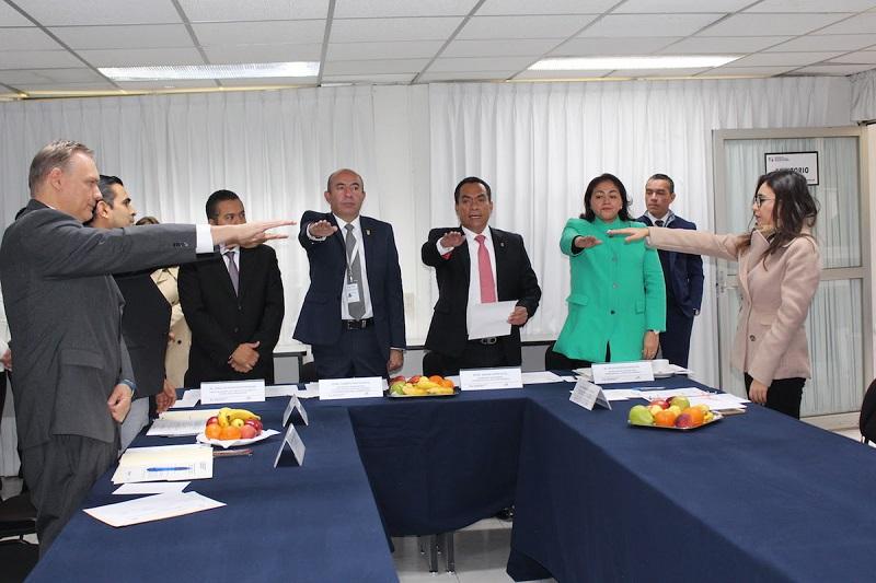 Montañez Espinosa señaló que entre los retos y compromisos del ICTI destaca el cumplimiento puntual de todos los programas establecidos para este año con la Federación