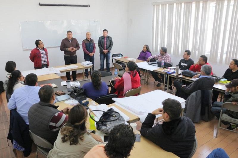 El curso-taller se llevó a cabo en las instalaciones del Instituto Michoacano de Ciencias de la Educación, gracias al convenio firmado recientemente