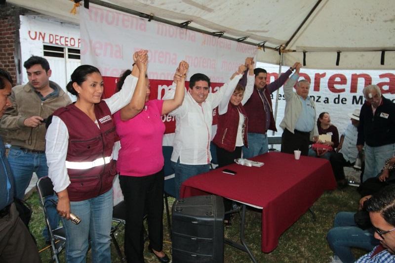 Pantoja Arzola aplaudió los refuerzos para la defensa del voto que anunció el jueves 1 de febrero el fundador del partido, Andrés Manuel López Obrador