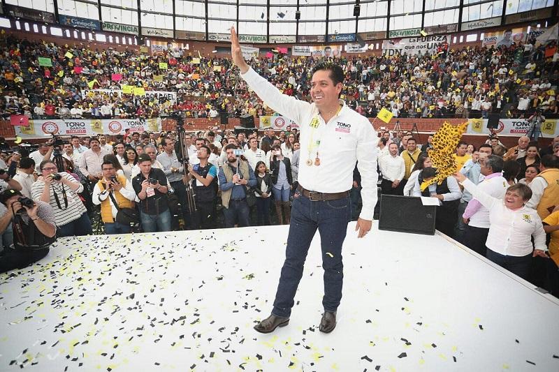 García Conejo recordó que desde su fundación el PRD ha visto por las necesidades de las mayorías, principalmente de los sectores más vulnerables