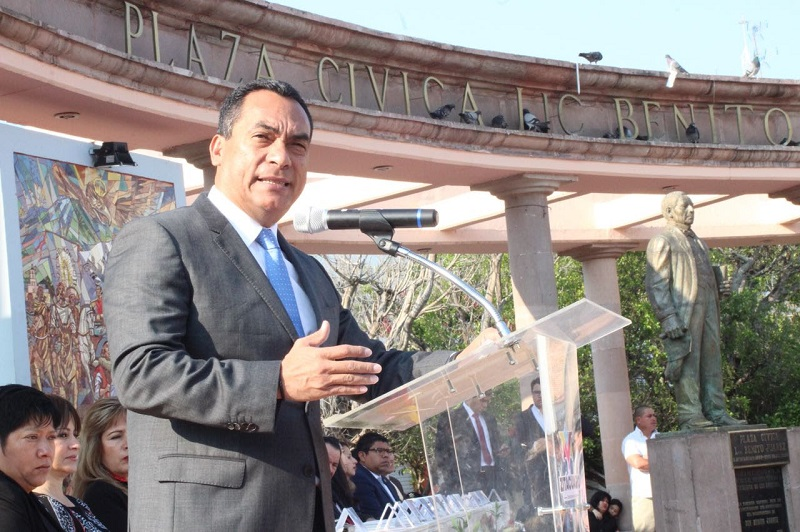 """El ingenio y la creatividad del Gobierno del Estado, han sido enfocados a la puesta en práctica de programas, obras y acciones, """"Michoacán no es ajeno a los problemas y actúa en ello"""", destaca López Solís"""