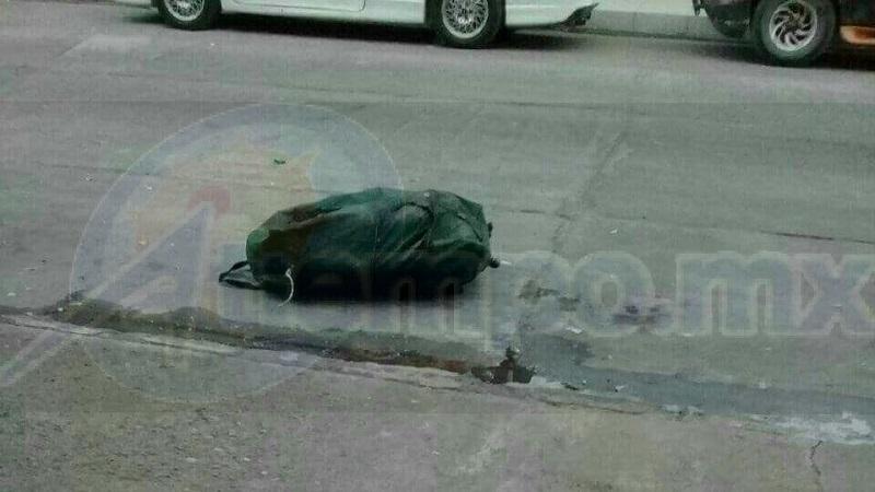 Al lugar acudieron agentes de la Policía Michoacán, los cuales confirmaron tal información