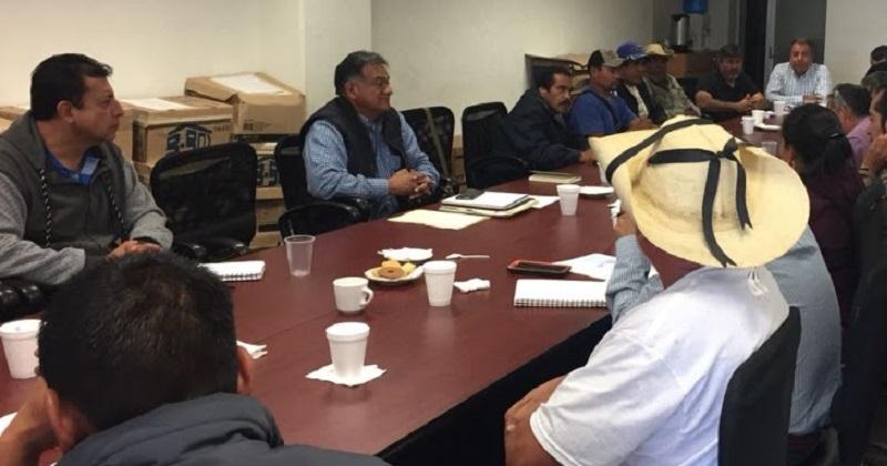 Pascual Sigala Páez informó que para la realización de estos trabajos, comisionó al subsecretario Carlos Torres Robledo y al secretario técnico Marco Antonio Rodríguez Espinosa