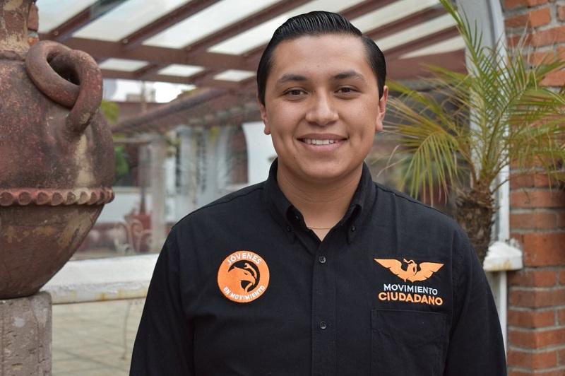 """""""Hoy los jóvenes vamos al frente, porque la convergencia de ideologías es una de las herramientas que nos permitirá fortalecer nuestra democracia"""": Cruz Vilchis"""