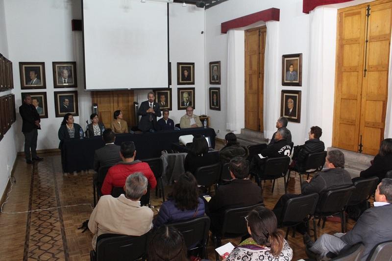 Durante dos días los representantes de las instituciones involucradas en el Proyecto trabajarán en mesas en las que se abordaron temas específicos