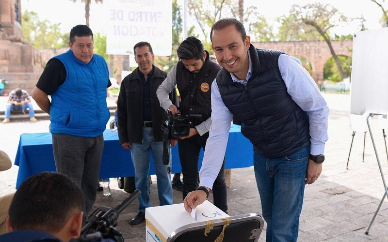 Serán los mejores perfiles los que encabecen las candidaturas en Michoacán, respetando el acuerdo de coalición y de candidaturas comunes ante el IEM: Cortés Mendoza