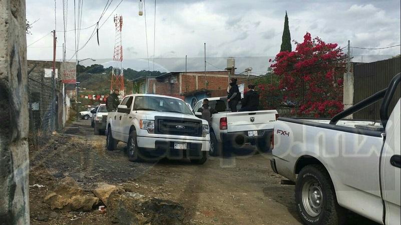 Los seis detenidos y armas de fuego, fueron puestos a disposición ante la autoridad competente para continuar la carpeta de investigación, quedando libre la persona secuestrada