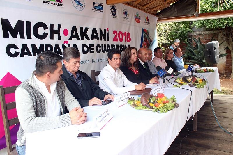 Este año la campaña de cuaresma contará con seis puntos de venta (Bosque Cuauhtémoc, OOAPAS, Manantiales, plaza principal de la tenencia de Santa María de Guido, la tenencia de Jesús del Monte y Michoakani)