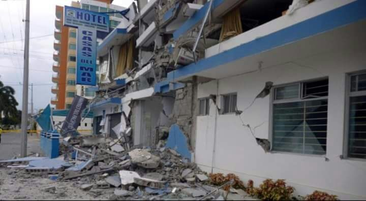 Se reportan fracturas graves en edificaciones en San José del Progreso, Tututepec, en el estado de Oaxaca