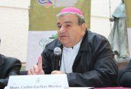 """Carlos Garfias, hizo una invitación a todos los fieles católicos a prepararnos en este tiempo de Cuaresma, para la """"gran celebración de la Pascua del Señor, que actualiza la muerte y Resurrección de Jesucristo"""""""