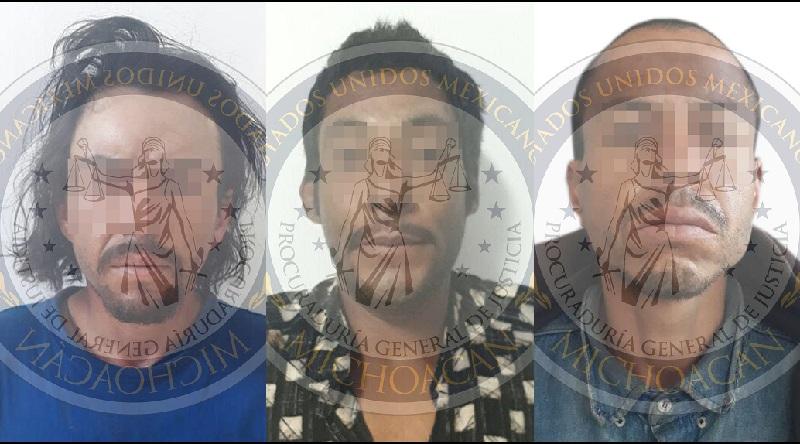 Los ahora detenidos fueron presentados ante el Juez de control a efecto de que sea resuelta su situación jurídica por su relación en el delito de homicidio calificado