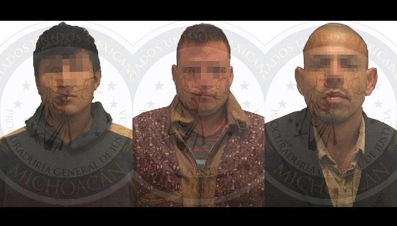 Derivado de lo anterior, los ahora detenidos fueron presentados ante el Juez de control a efecto de que sea resuelta su situación por su relación en el delito de secuestro