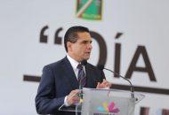 Gracias al apoyo firme del Ejército Mexicano, subraya el gobernador durante el festejo del CV Aniversario de la Creación del instituto armado