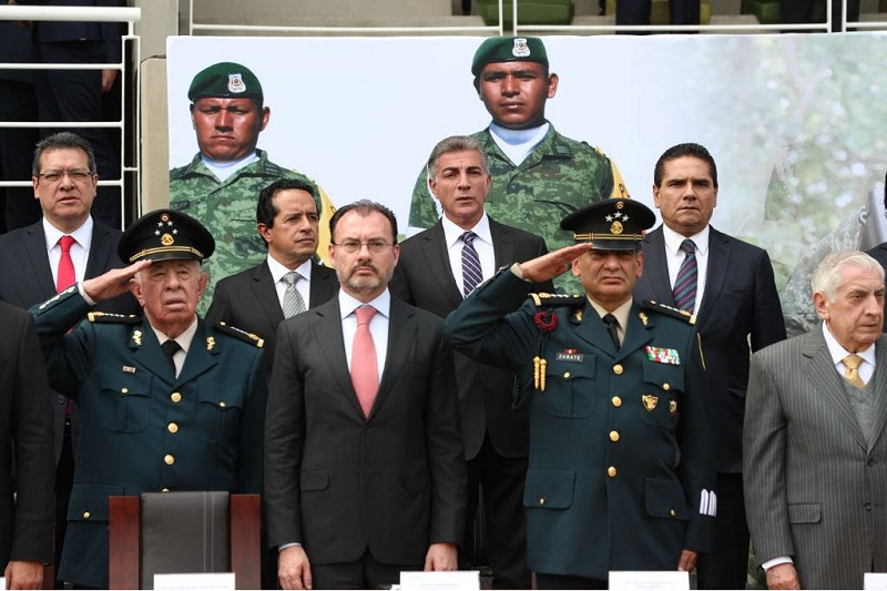 Aureoles Conejo recordó que gracias al respaldo del Ejército Mexicano a través de sus comandancias de zona, es que Michoacán ha logrado ocupar mejores escenarios en el tema de seguridad