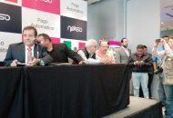 Se firmó una alianza estratégica entre el Movimiento Nacional Taxista y la empresa Nekso