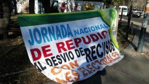 Por segundo día consecutivo se mantiene el plantón afuera de la dependencia federal en Morelia