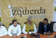 Por otra parte, los liderazgos presentes aseguraron que la expresión que representan tiene fuerte presencia 25 municipios de Michoacán, sobre todo en Zacapu, Apatzingán y Uruapan (FOTO: FACEBOOK EDGARDO MORALES SHERTIER)