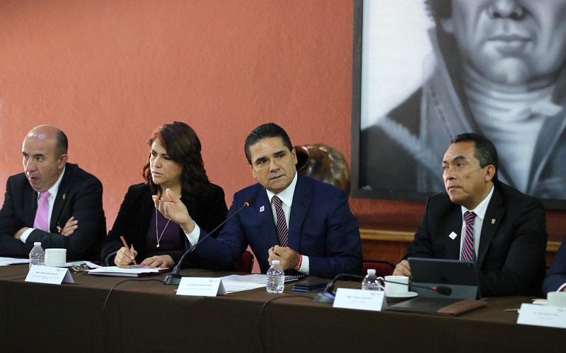 Aureoles Conejo destaca la detención del presunto implicado en el feminicidio de María Guadalupe C., ex activista forestal originaria de Cherán