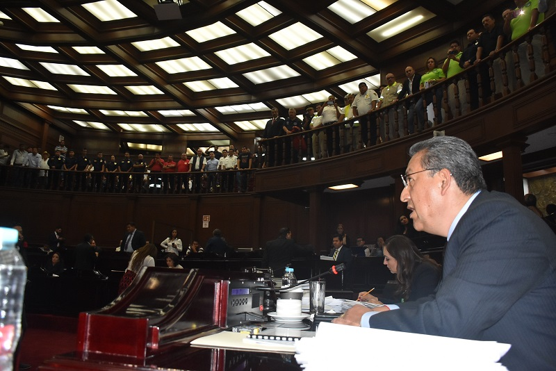 El dictamen pasó al pleno para su discusión, mismo que tuvo una aceptación unánime de los diputados al considerarlo un sector productivo importante para el desarrollo económico de Michoacán