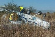 Al lugar arribaron bomberos del aeropuerto, así como paramédicos de Protección Civil de Álvaro Obregón, los cuales les brindaron las primeras atenciones a la tripulación