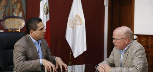 """Aureoles Conejo recalcó que la ZEE de Lázaro Cárdenas-La Unión ya tiene bases sólidas para seguir avanzando pues es su deseo y prioridad es """"que Michoacán sea la Zona Económica que marque la diferencia en México"""""""
