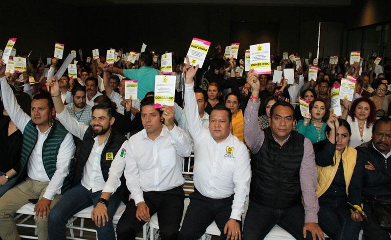 Cabe hacer mención que los lugares del 11 al 16 serán escogidos por el Comité Estatal del Sol Azteca