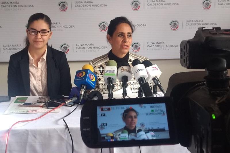 Calderón Hinojosa aseguró que a pesar de la poca actividad en el Senado, su agenda legislativa se mantiene activa y enfocada en atender las demandas de diversos sectores