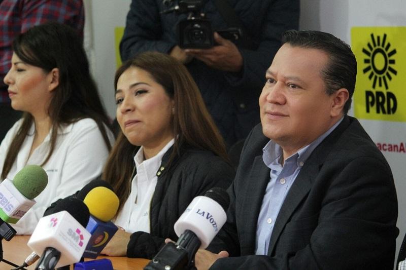 Destacó Martín García Avilés ambiente de unidad y cohesión en el PRD