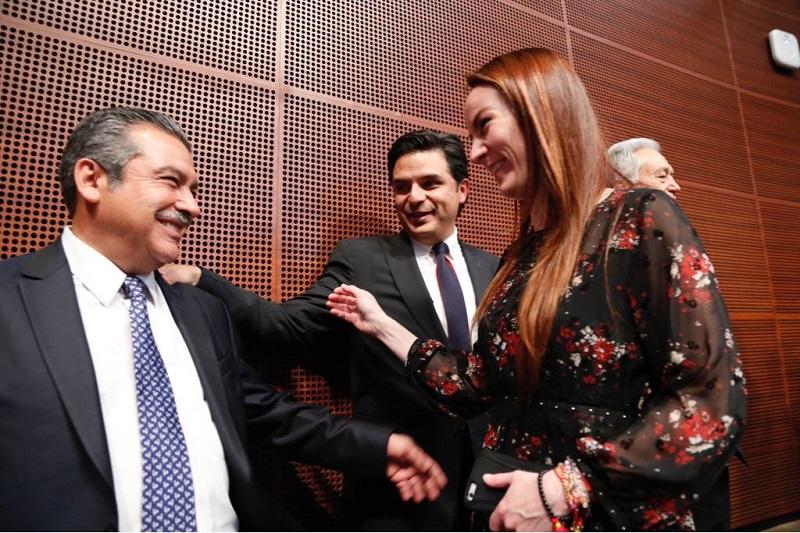 Morón Orozco se mantuvo como senador independiente desde su salida del PRD, sin embargo decidió reforzar los trabajos parlamentarios de Morena y del proyecto de Andrés Manuel López Obrador