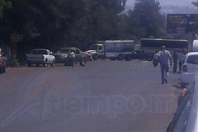 Esto sucedió 24 horas después del enfrentamiento registrado en el municipio de Tingüindín, mismo que dejó como saldo 6 civiles abatidos, un elemento fallecido y seis detenidos