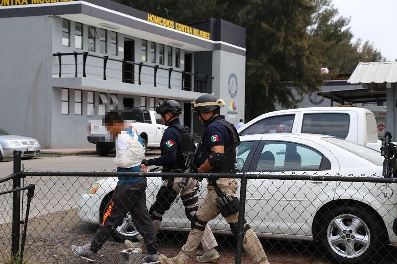 Como parte de las acciones que de manera firme se han efectuado para combatir este delito, en el citado periodo se detuvo a 26 personas implicadas en secuestro