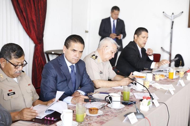 Revisan estrategia para garantizar comicios pacíficos en distritos y municipios del estado