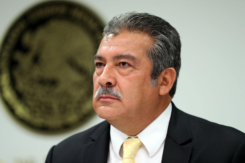 En la rueda de prensa fue notoria la ausencia del aspirante Osvaldo Ruiz