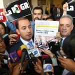 Coordinadores del PAN, PRD y MC presentan solicitud de juicio político en contra del Procurador Alberto Elías Beltrán, por la guerra sucia emprendida desde la PGR