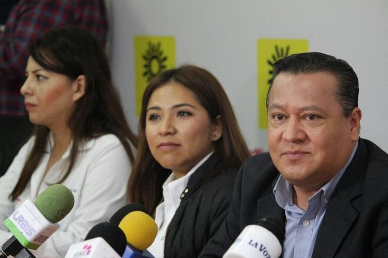 """""""Como partido podemos decir que estamos apoyando estas tareas para que en la medida de lo posible se restablezca la paz en la zona de Tierra Caliente"""", abundó García Avilés"""
