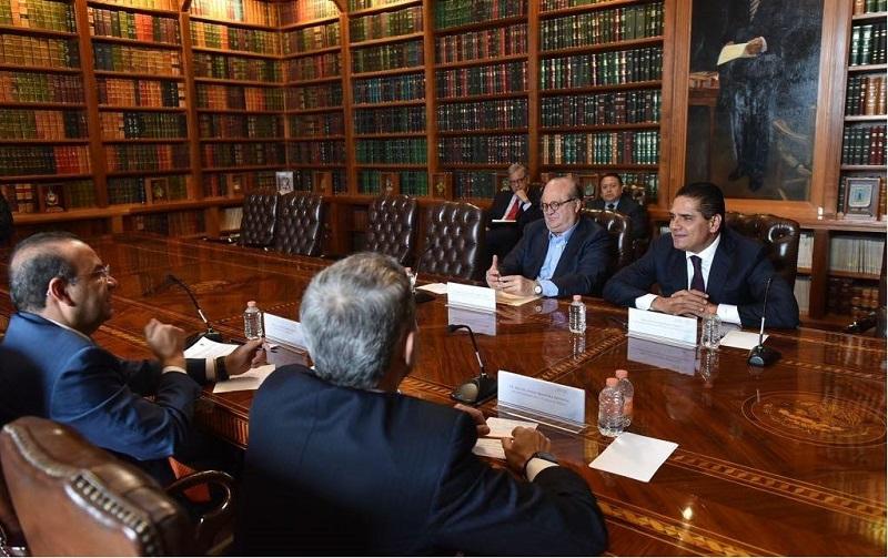 El mandatario michoacano revisó con sus homólogos y el titular de la Segob acciones conjuntas por la seguridad y gobernabilidad