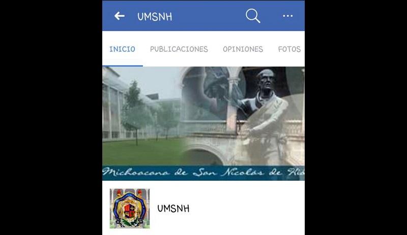 La Universidad Michoacana de San Nicolás de Hidalgo, descubrió este fraude cibernético y alerta a padres de familia y jóvenes a no caer en dicha estafa