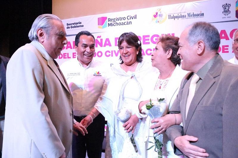 """""""Los datos que acreditan el estado de derecho de los ciudadanos deben estar regularizados y es a través de la implementación de estas campañas que el Gobierno puede acercar estos servicios a la población"""", expresó López Solís"""