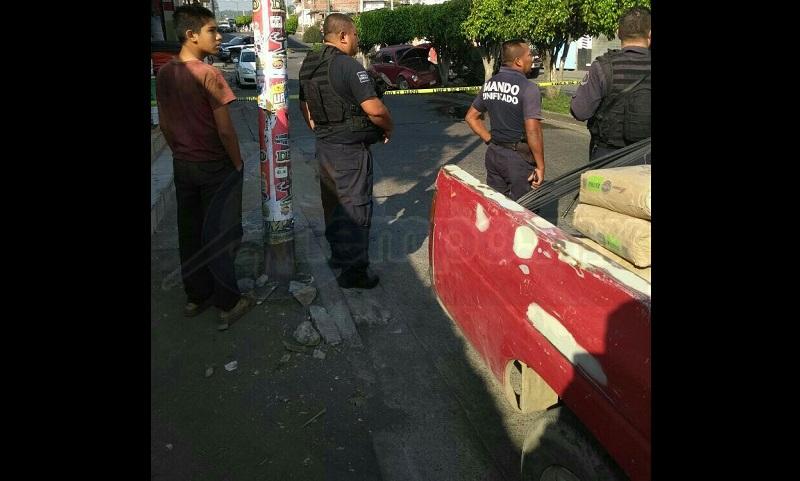 El hecho se registró minutos después de las 09:30 horas sobre la Avenida Lenin cerca de la calle Cuba