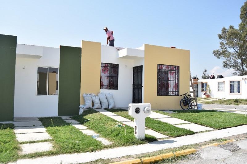 Estas viviendas son parte del programa de Acceso al Financiamiento para Soluciones Habitacionales, en la Modalidad de Autoproducción