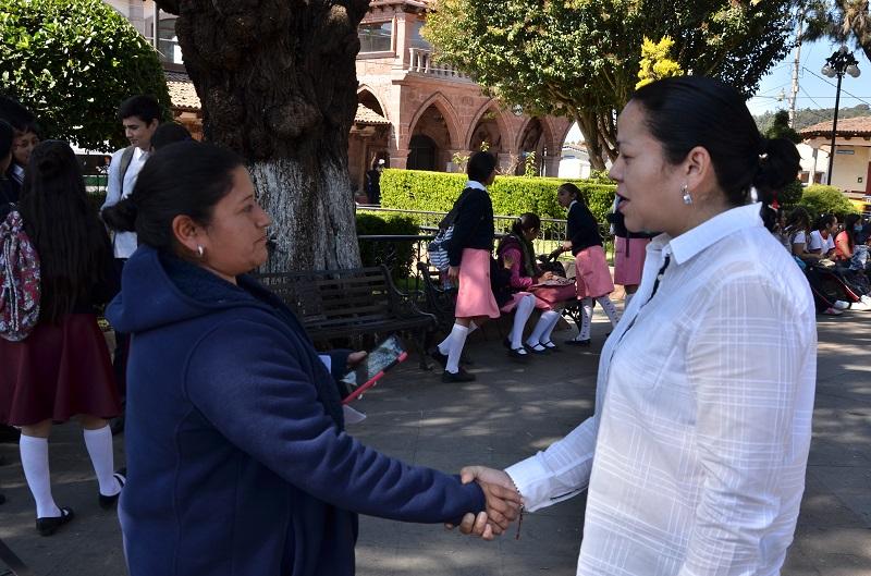 Alcántar Baca llamó a las autoridades municipales a sumarse en las acciones que se impulsan y son encaminadas a combatir la violencia