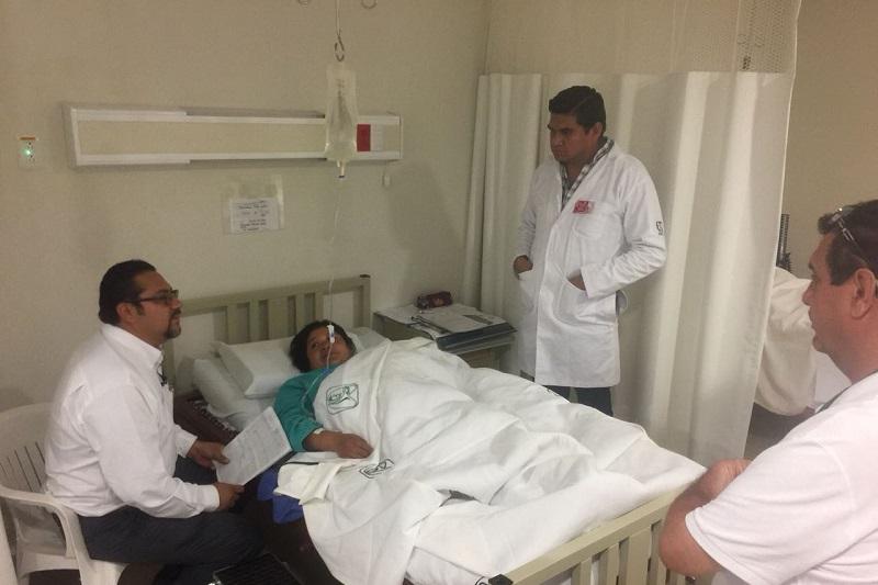 Se operaron pacientes de los municipios de Paracho, Chilchota, San Juan Nuevo Parangaricutiro, Uruapan, Charapan, Nahuatzen y Cherán