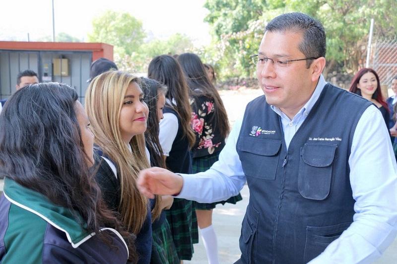 """Nuestra prioridad es forjar mujeres empoderadas e íntegras, que luchan por un cambio verdadero en su entorno"""", afirmó Barragán Vélez"""