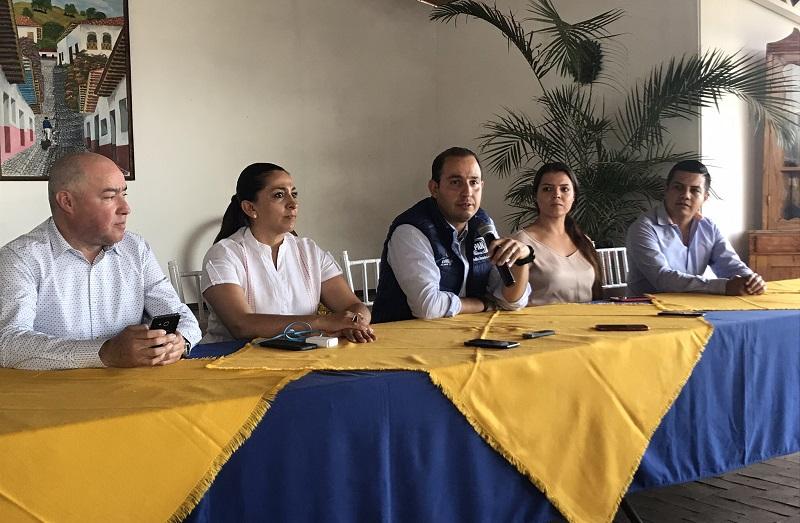 Respaldaremos a nuestros candidatos para los preparativos del inicio de campañas y demostraremos de qué estamos hechos: Cortés Mendoza