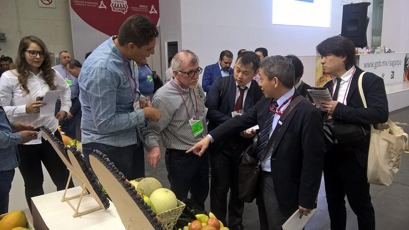 El titular de la SE, Ildefonso Guajardo Villareal, elogió la calidad, sanidad e inocuidad de los productos michoacanos