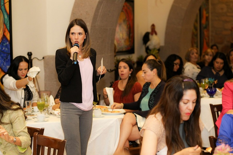 Solidaridad por ser mujeres, fue lo que se desprendió en el encuentro