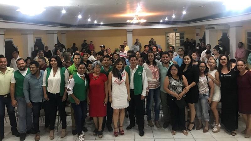 De manera histórica, el Partido Verde irá con una planilla completa en el municipio de Lázaro Cárdenas: Núñez Aguilar