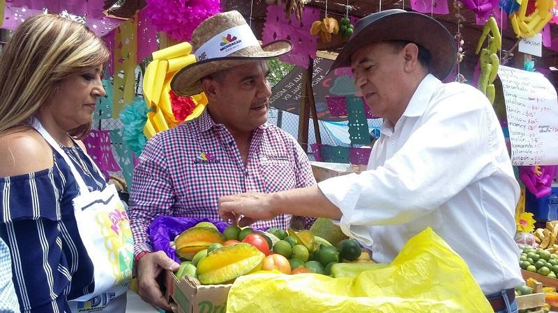 Jungapeo, Benito Juárez, Susupuato, Ziracuarétiro, Taretan y Nuevo Urecho, los municipios que lideran la producción en la entidad, refiere