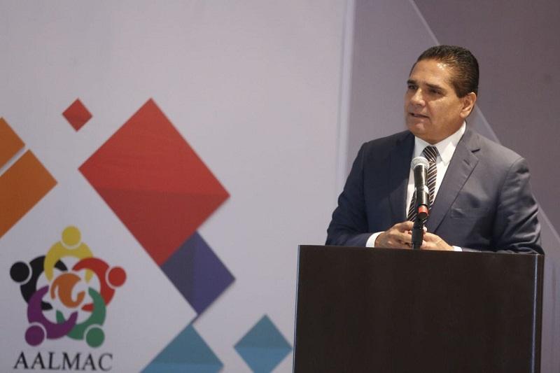 Rinden protesta los nuevos integrantes de la Mesa Directiva de la AALMAC 2018-2019, que será presidida por el presidente municipal de Tepic, Javier Castellón Fonseca