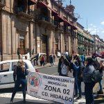 Siguen las marchas y otras movilizaciones en la capital michoacana